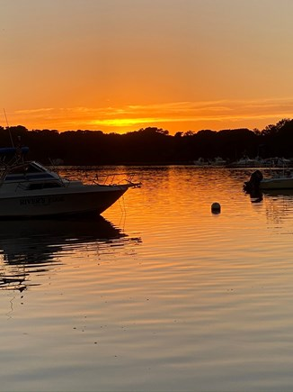 South Dennis Cape Cod vacation rental - More sunset views at the end of our walkway