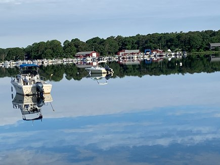 South Dennis Cape Cod vacation rental - View across Kelly's Bay