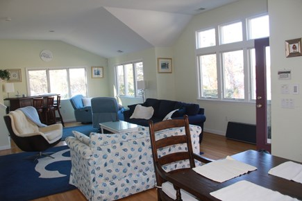 South Dennis Cape Cod vacation rental - Living space