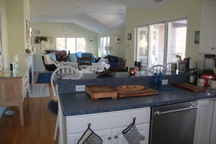 South Dennis Cape Cod vacation rental - View from Kitchen