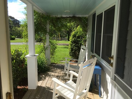 West Dennis Cape Cod vacation rental - View from the front door....