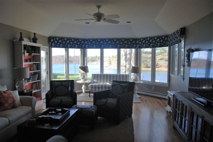 West Dennis Cape Cod vacation rental - Great views from the Great Room!