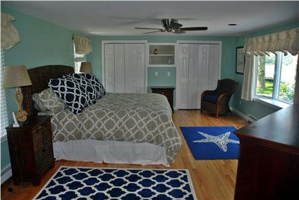 West Dennis Cape Cod vacation rental - King sized bed in the master suite...