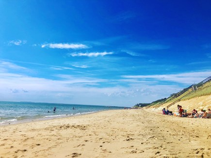 Eastham Cape Cod vacation rental - Welcome to our private beach!