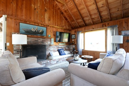 Eastham Cape Cod vacation rental - Living Room!