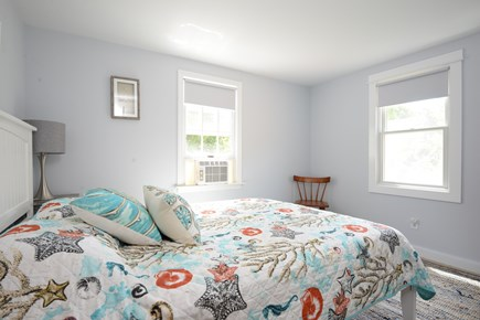 Eastham Cape Cod vacation rental - First floor bedroom with queen bed, freshly painted, redecorated