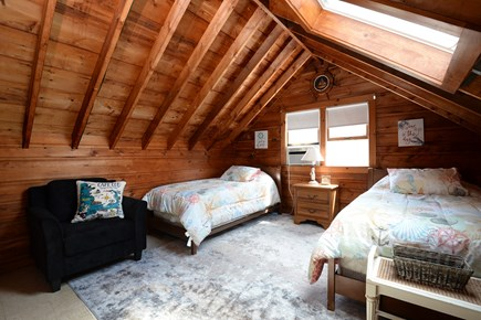 Eastham Cape Cod vacation rental - Adorable Upstairs bedroom with 2 twin beds with half door