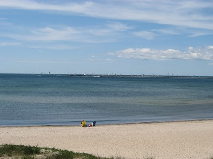 Near Hyannis Port Cape Cod vacation rental - Sea Street (aka Keyes) Beach just 2/10 mile away