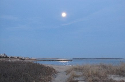 Near Hyannis Port Cape Cod vacation rental - Moonrise on Sea Street Beach