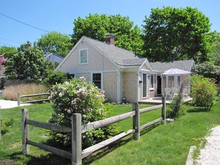 Near Hyannis Port Cape Cod vacation rental - Large front yard and deck