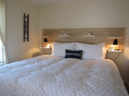 Near Hyannis Port Cape Cod vacation rental - Front bedroom king bed