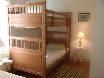 Near Hyannis Port Cape Cod vacation rental - Bunk beds in second bedroom