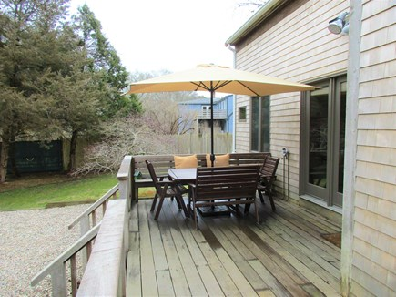 Wellfleet, Eastham Cape Cod vacation rental - Deck