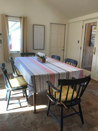 Wellfleet, Eastham Cape Cod vacation rental - Dining area