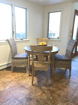 Wellfleet, Eastham Cape Cod vacation rental - Kitchen seating area