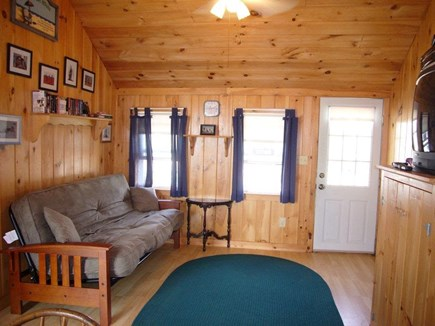 Dennis Port Cape Cod vacation rental - Living room with futon