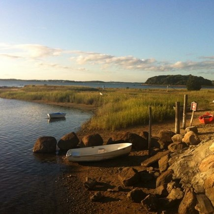 Pocasset Pocasset vacation rental - Beach and jetty view. Minutes away from house.