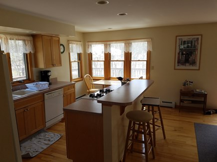 Wellfleet Cape Cod vacation rental - Kitchen, breakfast nook