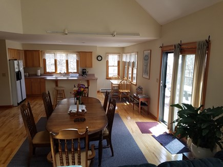Wellfleet Cape Cod vacation rental - Dining, kitchen gathering area