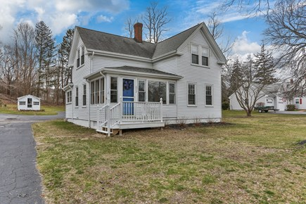 Bourne, Sagamore / Sandwich Line Cape Cod vacation rental - Pulling into your driveway!