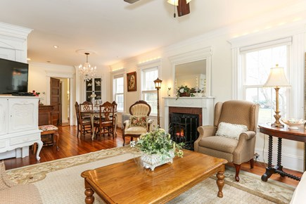 Bourne, Sagamore / Sandwich Line Cape Cod vacation rental - Leads into dining area (note the widescreen TV).