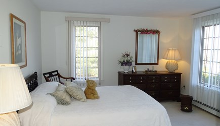 Harwich port Cape Cod vacation rental - Main floor queen bedroom with water views