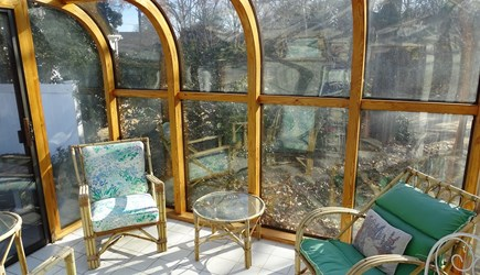 Harwich port Cape Cod vacation rental - Sun room - great place to read or drink morning coffee