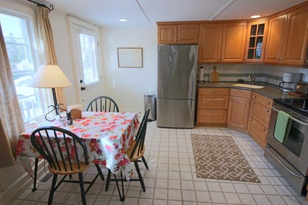 Dennis Cape Cod vacation rental - Enter the kitchen with dining nook