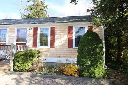 Dennis Cape Cod vacation rental - Front (right side of building)