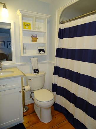 New Seabury, Mashpee Cape Cod vacation rental - Main floor bathroom with shower and tub