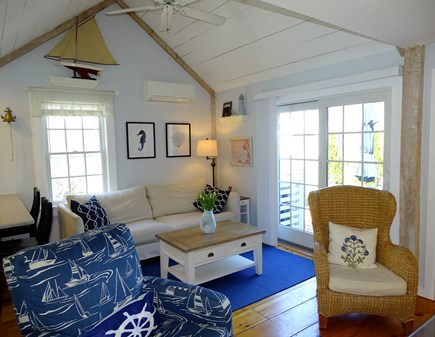 New Seabury, Mashpee Cape Cod vacation rental - Bright and comfortable living area with central A/C