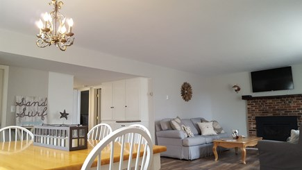 Dennis Cape Cod vacation rental - Living and Dining Room