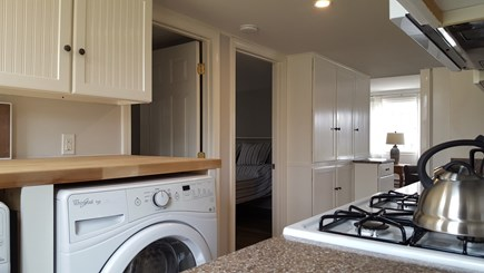 Dennis Cape Cod vacation rental - Kitchen with Gas Range, Dishwasher, Washer and Dryer