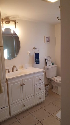 Dennis Cape Cod vacation rental - Full sized bathroom with new walk-in shower