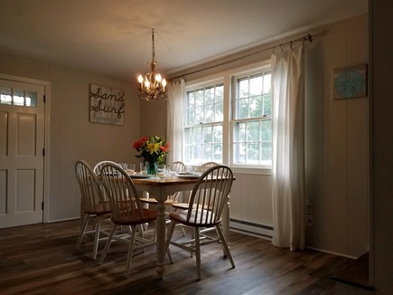 Dennis Cape Cod vacation rental - Dining table with room for 6 at your traditional Cape Cod dinner
