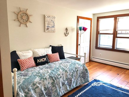 Cotuit Cotuit vacation rental - Bedroom with 4 twin beds with window A/C