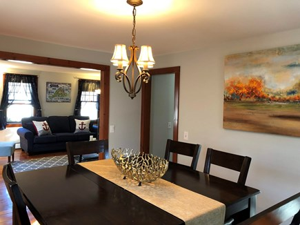 Cotuit Cotuit vacation rental - Dining room, table comfortably seats 6 people