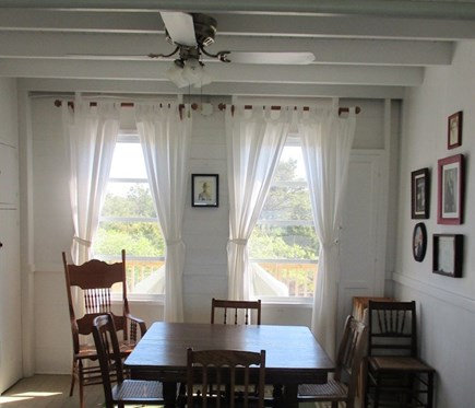Wellfleet Cape Cod vacation rental - Dining if you must dine indoors