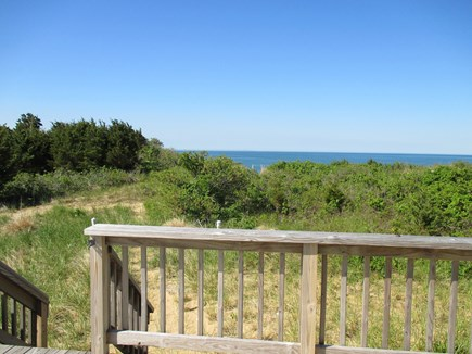 Wellfleet Cape Cod vacation rental - Quick walk from deck to beach stairs