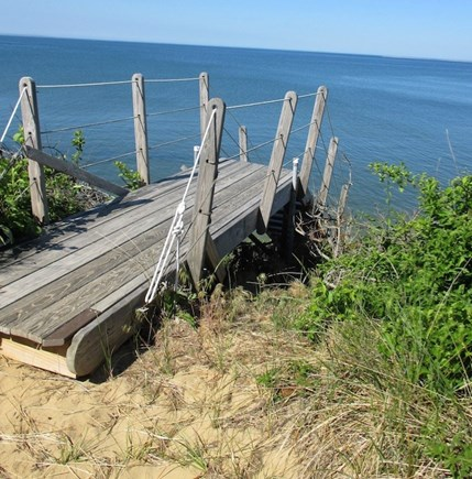 Wellfleet Cape Cod vacation rental - Beach stairs