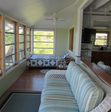 Wellfleet Cape Cod vacation rental - Porch area