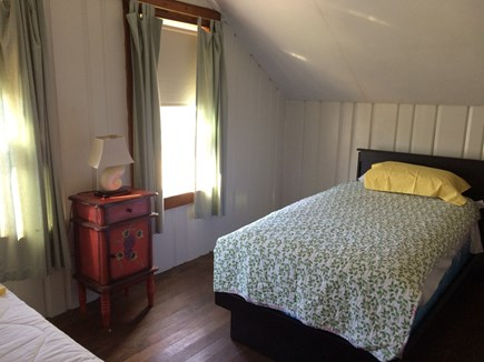 Wareham, Swift's Beach MA vacation rental - Upstairs bedroom with two twin beds