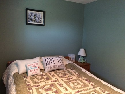 Wareham, Swift's Beach MA vacation rental - Downstairs Master Bedroom with full size bed and shower unit