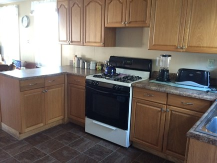 Wareham, Swift's Beach MA vacation rental - Large Cooking area for Eat in kitchen