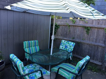 Wareham, Swift's Beach MA vacation rental - Outside patio with grill