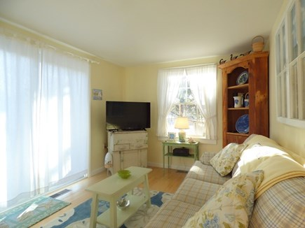 Chatham Cape Cod vacation rental - Living Area, Opens out to Deck
