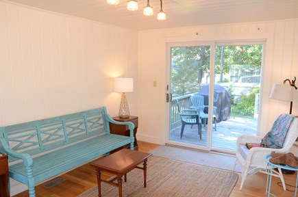 Yarmouth Port Cape Cod vacation rental - Sunroom for reading or playing a fun board game