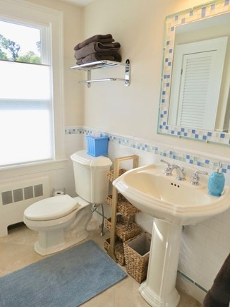East Orleans Cape Cod vacation rental - First floor bath with stall shower (not shown).