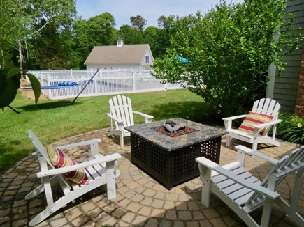 East Orleans Cape Cod vacation rental - Fire pit, hammock and pool. Croquet on front lawn. Tether Ball.