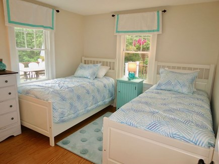 East Orleans Cape Cod vacation rental - 1st floor twin bedroom - can be set as king bed upon request